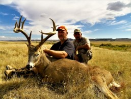 Milliron TJ outfitting Whitetail Deer hunting Wyoming