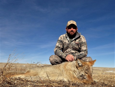 Wyoming Coyote hunting Milliron TJ Outfitting